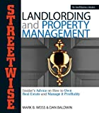 img - for Streetwise Landlording & Property Management: Insider's Advice on How to Own Real Estate and Manage It Profitably book / textbook / text book