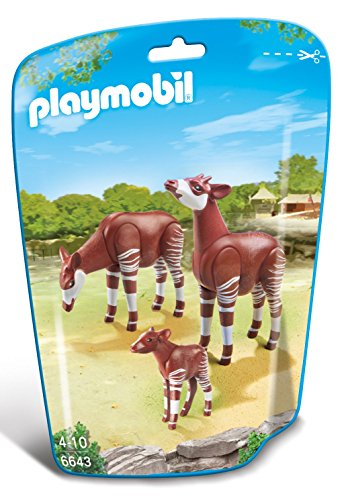 Price comparison product image PLAYMOBIL Okapi Family Building Kit