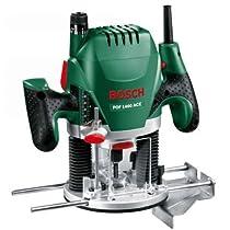 Bosch POF 1400 ACE - Fresadora de superficie, 11000 - 28000 rpm, 1400 W, color negro y verde