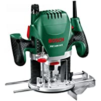 Bosch överfräs POF 1400 ACE (3 x spännhylsor, fräs, parallellanslag, sugadapter, väska (1 400 W))