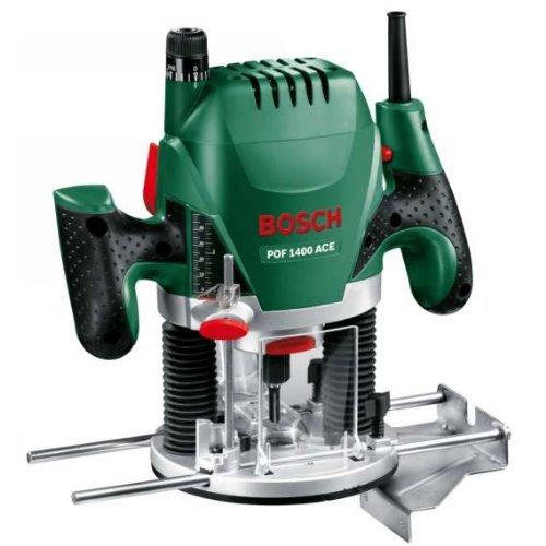 Bosch POF 1400 ACE – Fresadora de superficie (1.400 W, en maletín)