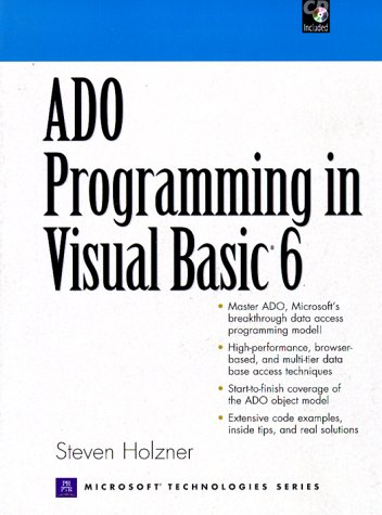 ADO Programming in Visual Basic 6 by Pearson P T R