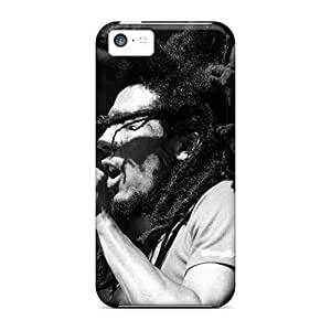 Durable Cases For The Iphone 5c- Eco-friendly Retail Packaging(bob Marley)