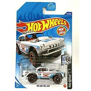 DieCast Hotwheels Big-Air Bel-Air 179/250 (White), Rod Squad 1/10