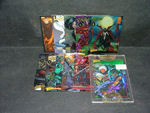 11 Wizard Promo Cards Onslaught, Spawn, Youngblood, Lady Death, She-Hulk, Crow