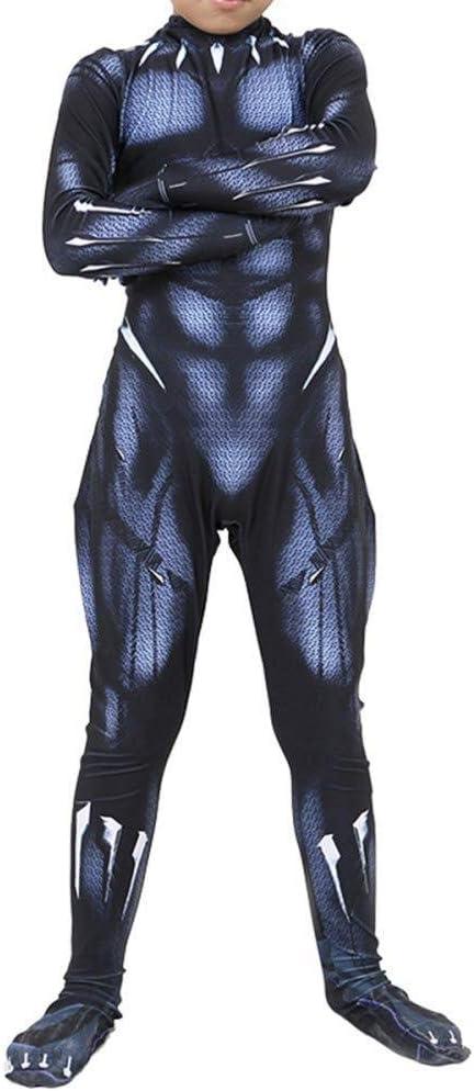 Marvel Hero Black Panther Cosplay Disfraz Halloween Navidad Body ...