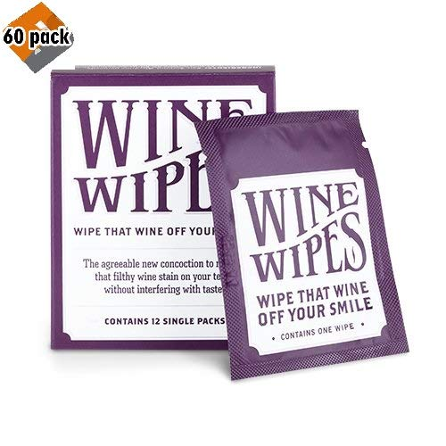 True Wine Stain Removing Wipes 2-inch White, 60-Pack by True (Image #3)