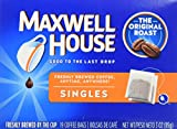 Maxwell House Original Roast Ground Coffee, 19 Single Serve Coffee Bags, 4 Pack For Sale