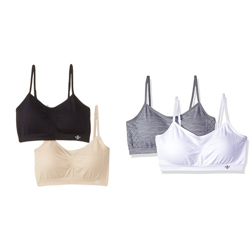 0283f2c00a Lily of France Women s Dynamic Seamless Bralette 2 - Choose SZ color ...