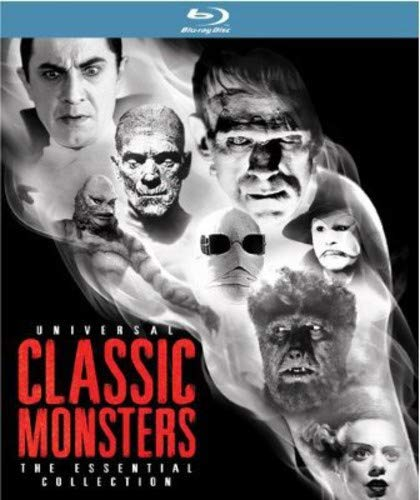 Universal Classic Monsters: The Essential Collection [Blu-ray] -