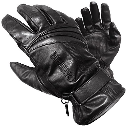 Olympia Sports Women's Monsoon Gloves (Black, Medium)