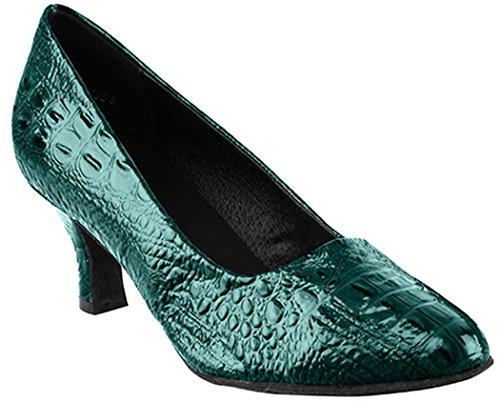 Zeer Fijne Schoenen Salsera Serie Sera5513 Turquoise Croc