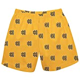 Kennesaw State Owls Print Gold Pull on Short