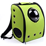 Bubble Pet Carriers Cat and Dog Package Space Capsule Shoulder Travel Bag Green S2 Review