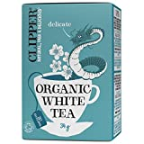 CLIPPER TEA Organic White Tea, 34 Grams