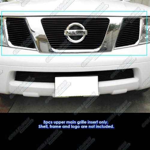 05-08 Nissan Frontier/05-07 Pathfinder Black Billet Grille Grill Insert for cheap