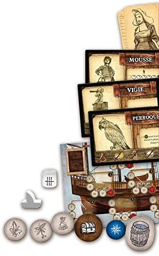 Asmodee Robinson Crusoé - Juego de Mesa: Amazon.es: Juguetes y juegos