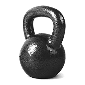 CAP Barbell Cast Iron Kettlebell, Black