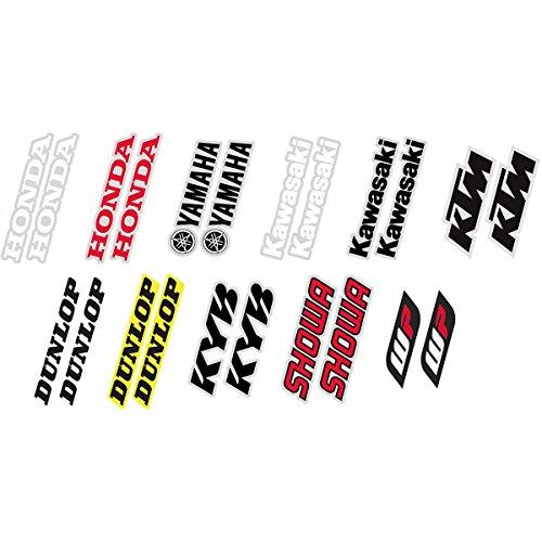 Factory Effex 19-44500 Black Universal Fork/Swing Arm Sticker (Stickers Swing Arm)