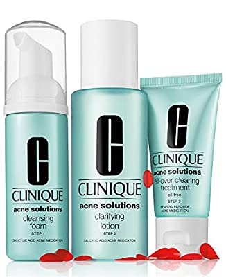 New! Clinique Acne Solutions Clear Skin System Starter Kit