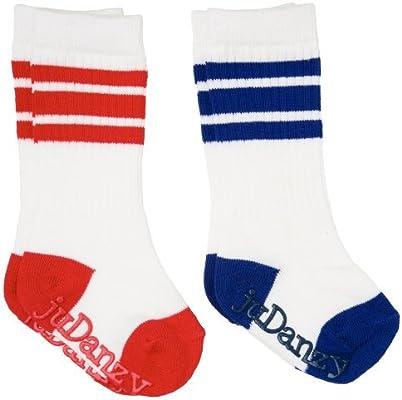 juDanzy Knee High Tube Socks for Boys Baby 2 Pack Toddler and Child Girls