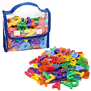edukid toys 72 magnetic letters numbers tote 125 175