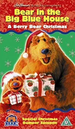 bear in the big blue house a very beary christmas vhs - Bear Inthe Big Blue House Christmas