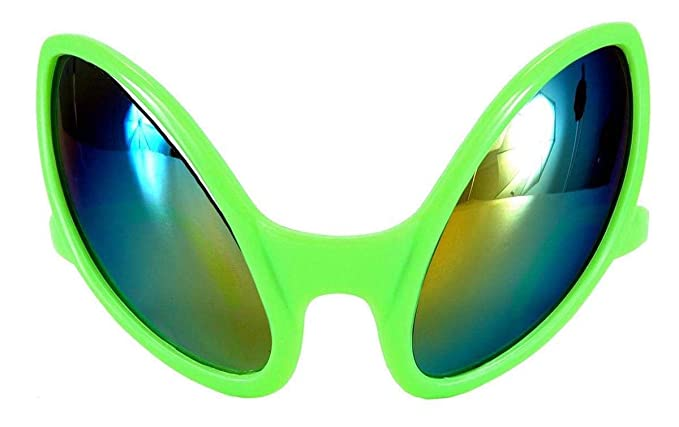 6f0e3cc9505 Amazon.com  elope Green Alien Costume Glasses for Adults Men and ...