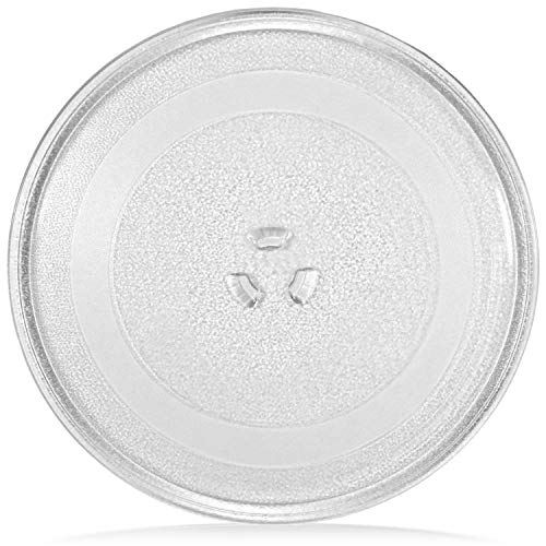 """Impresa Products 12.75"""" Sears, Kenmore and LG -Compatible Microwave Glass Plate/Microwave Glass Turntable Plate Replacement - 12 3/4"""" Plate, Equivalent to 1B71961E, 1B71961F and 507049"""