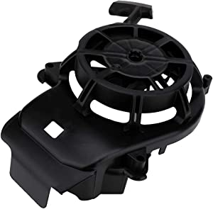 594062 Recoil Starter Pull Start Assembly for Briggs & Stratton 093J02 103M02 103M05 103M0B 104M02 Engine with Pull Cord- Replaces 594062 Briggs and Stratton Toro Husqvarna Lawn Mower Rewind Starter