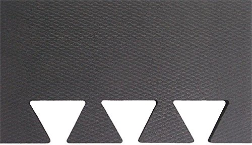 Humane SHOK-LOK 6' x 7'6'' x 3/4'' Anti-Shock Rubber Power Platform Mat (Glacier Color Fleck) - BIGLOK Strength Equipment Mat - Noise and Vibration Reducing