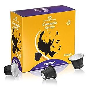 Consuelo - capsule compatibili Nespresso* Intenso, 50 capsule