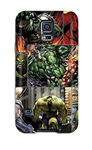 Claumpson Snap On Hard Case Cover The Hulk Collage Protector For Galaxy S5