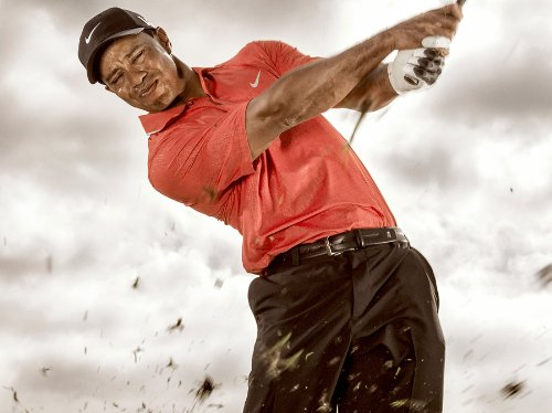 (Tiger Woods Poster Photo Celebrity Golf PGA Champion Limited Print Size 24x36 #1)