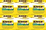 Bayer Low Dose 81mg Aspirin Regimen Safety Coated, 400 Tablets each (pack of 6)