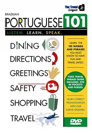 Amazon brazilian portuguese 101 learn portuguese with the brazilian portuguese 101 learn portuguese with the travel linguist m4hsunfo