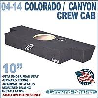 CHEVY COLORADO & GMC CANYON CREW-CAB 2004-2014 SPEAKER GROUND-SHAKER BOX
