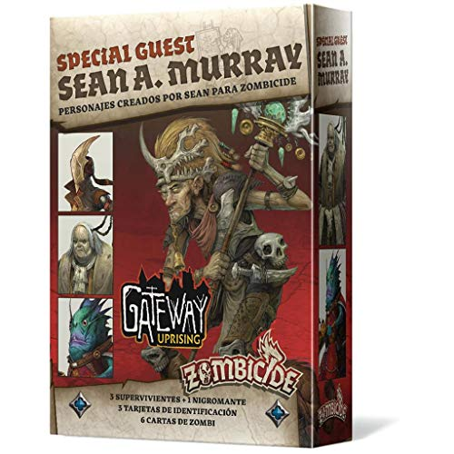 Edge Entertainment- Zombicide Black Plague - Green Horde Special Guest: Sean A. Murray, Color (EECMZB44): Amazon.es: Juguetes y juegos