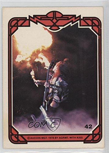 Kiss Card (Gene Simmons (Trading Card) 1978 Donruss Kiss Series 1 - [Base] #42)
