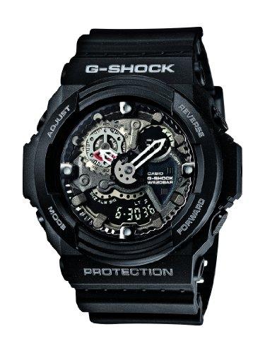 Casio-GA-300-1AJF-Mens-G-Shock-BIG-CASE-LED-Analog-Digital-Black
