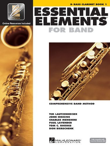 B-flat Clarinet Book 2 (Essential Elements 2000 Comprehensive Band Method, Includes Play-along CD)