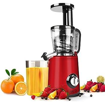 Aicok Slow Masticating Juicer Extractor Reverse Function : Amazon.com: Juice Extractor WOQI Juicer Slow Masticating ...