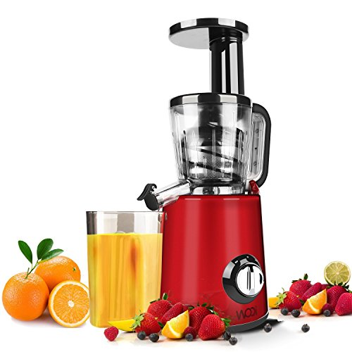 Professional Masticating Slow Juicer : Juice Extractor WOQI Juicer Slow Masticating Juicer Professional Cold Press Juicer ANTI ...