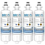 Bristi LG LT700P Refrigerator Water Filter Replacement, LG ADQ36006101, And Fits Kenmore 46-9690 (9690) And Fits WSL-3,WF700 (1 Pack) (4 Pack)