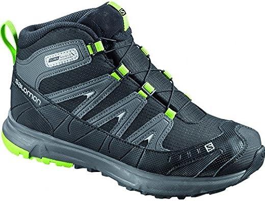 Mid Junior Noir Salomon Chaussures 33 Trail 8N0wvmnO