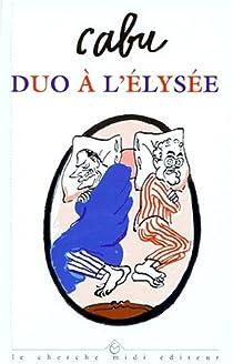 Duo à l'Elysée par Cabu