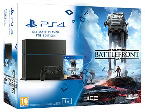 PlayStation 4 – Consola 1 TB + Star Wars: Battlefront