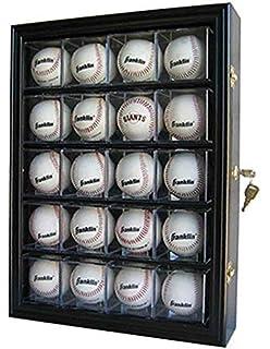 Baseball Hockey Puck Display Case Sturdy Construction Sports Mem, Cards & Fan Shop