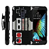 MINITURTLE Case Compatible w/ LG K10 Holster Case| LG Premier LTE Case [Clip Armor] Premium Heavy Duty Shooproof Case w/ Stand and Holster Game Controller For Sale