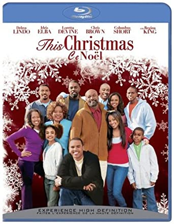 This Christmas Lauren London.This Christmas Blu Ray Bilingual Amazon Ca Delroy